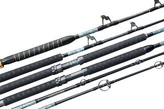 Dobyns Rods DX 702SF Champion Extreme Series Light Fast Spinning Rod, 7 0 Medium, Black Orange