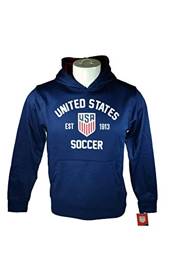 Icon Sports Group US Soccer Hoodie Jacket, Official USA Soccer Hoodie Youth 003 YS