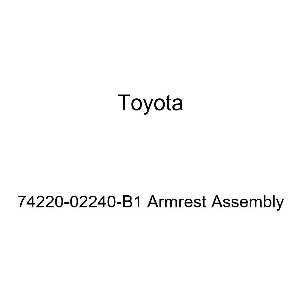TOYOTA Genuine 74220-02240-B1 Armrest Assembly