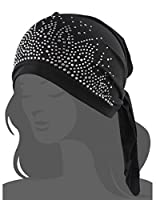 I wish Women's Scarf Pre Tied Chemo Hat Beanie Turban Headwear for Cancer Patients