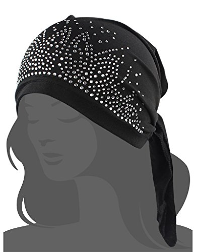 Women's Knit Chemo Hat Beanie Scarf, Turban Headwear for Cancer Patients