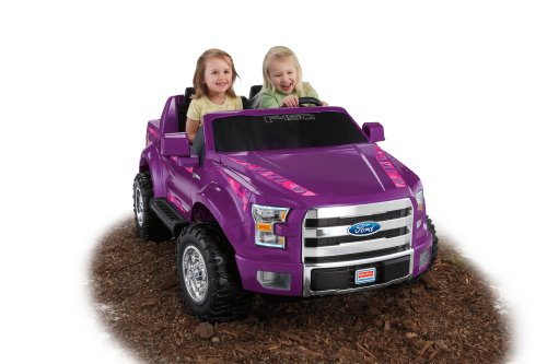 Fisher-Price Power Wheels Ford F150 Truck Purple Girls Kids