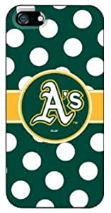 The Newest MLB Oakland Athletics Terms Iphone 5/5s Case Cover for Sport Fans Club