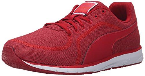 PUMA Women's Narita V3 Quilt Running Shoe, Lipstick Red/Black/Lipstick Red, 9 M US