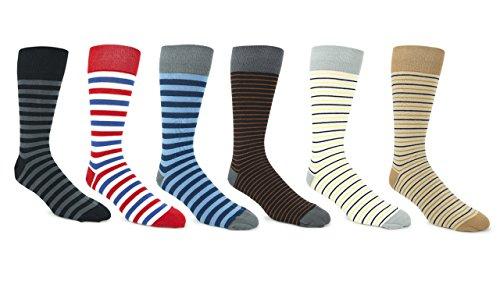 - Oddball Royale Men's Dress Socks XXL (Men's size 14-18) (Multi-Color 6-pack)