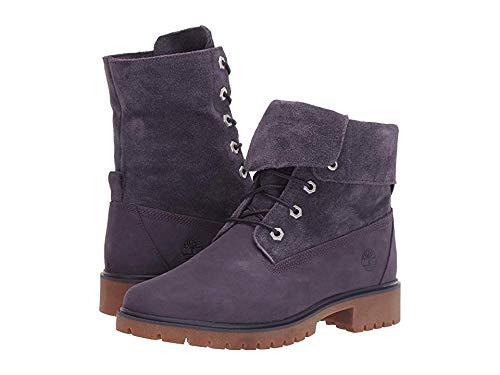 - Timberland Womens Jayne Suede Fold Down Boot, Dark Purple Nubuck, Size 9.5