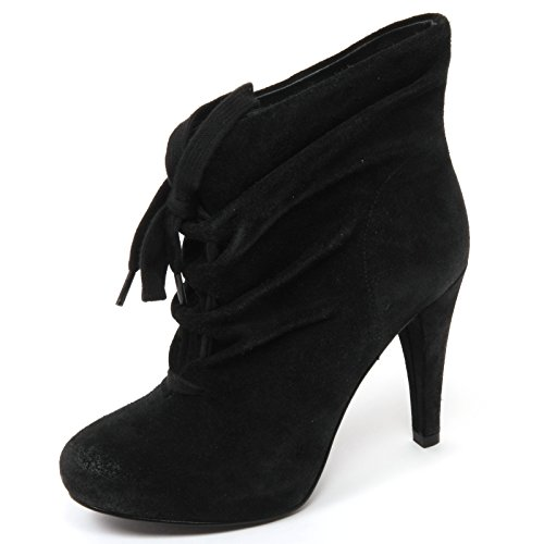 C6194 tronchetto donna ASH HONEY stivale nero boot shoe woman Nero