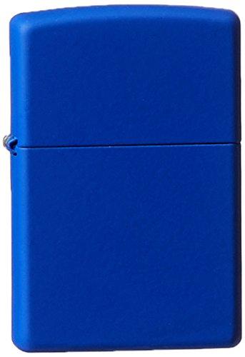 Zippo 229 Pocket Lighter, Royal Blue Matte