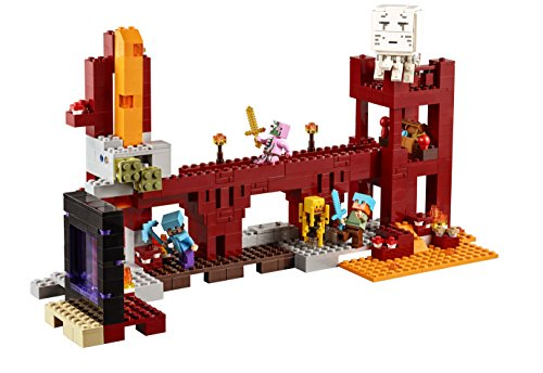 Amazon.com: Lego Minecraft The Nether Fortress: Toys & Games