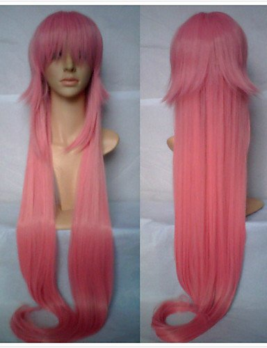 Stylish confortable WIDMANN Fashion de alta calidad peluca rosa cosplay Super Long WIDMANN de cabello sintéticas