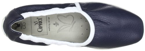 Caprice 9-9-24663-20, Chaussures basses femme Blue - Blau (Navy/White)