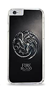 CSKFUGame Of Thrones Targaryen Fire And Blood Clear Hardshell Case for ipad iphone 6 4.7 inch
