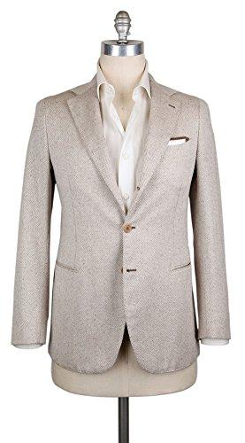 Luigi Borrelli New Cream Sportcoat (Cream Blazer Silk)