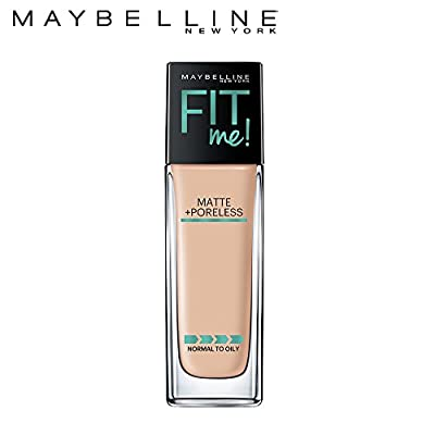 Mayebelline Fit Me Matte+ Porless Liquid Foundation