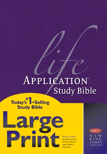 (NKJV Life Application Study Bible, Second Edition, Large Print (Red Letter, Hardcover))