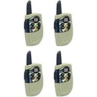 Cobra Hero Special Forces 16 Mile 22 Channel 2Way Kids Walkie Talkie (4 Radios)