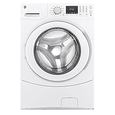 GE GFWN1600JWW 4.3 Cu. Ft. White Front Load Washer - Energy Star