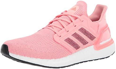 adidas Women's Ultraboost 20 Running Shoe, Glory Pink/Maroon/Signal Coral, 10 UK