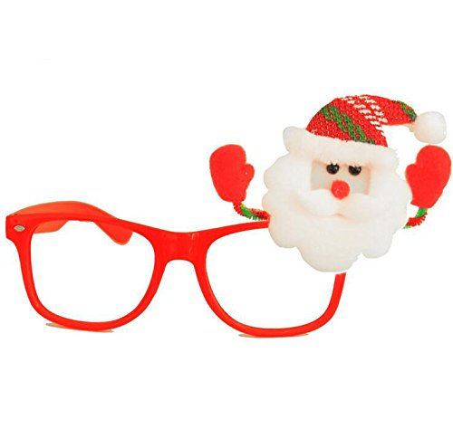 Cute Christmas Santa Sunglass Frame Spectacle Dress Claus 4 Fancy 12 Eyeglass ZqnnOSW
