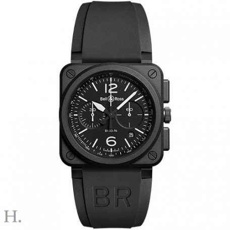 Bell & Ross Aviation Automatic Chronograph Mens Watch -
