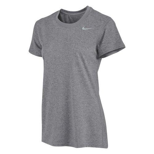 Nike Women Short Sleeve Legend Tee (X-Large, Grey)