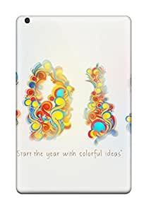 High Quality CaseyKBrown 2012 Colorful New Year Skin Case Cover Specially Designed For Ipad - Mini/mini 2