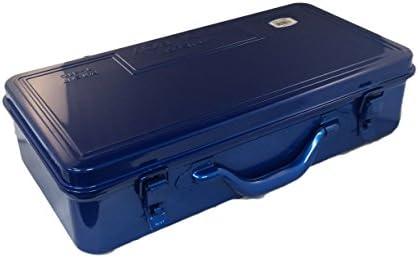 [スポンサー プロダクト]TRUSCO(トラスコ) トランク工具箱 418X222X110 ブルー T-410