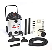 Shop-Vac 5866400 16-Gallon 6.5-Peak HP Stainless Steel Wet/Dry Vacuum with Rear Dolly