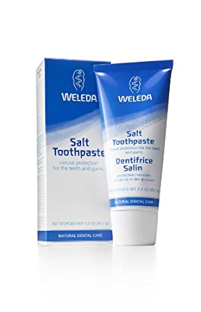 Amazon Com Weleda Salt Toothpaste 2 5 Fluid Ounce Pack Of 2 Beauty