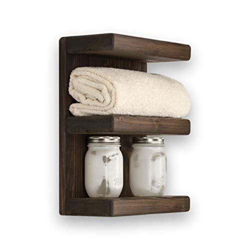Three Tier Bathroom Shelf - Tier Transitional Three