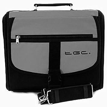 Sony Playstation 3 PS3 Slim Gris & Negro Deluxe Consola Bolsa de transporte: Amazon.es: Electrónica