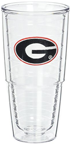 ia University Emblem Individually Boxed Tumbler, 24 oz, Clear ()