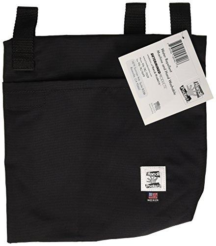 Handi Pockets 2a4bk Storage Accessory Walker, Nylon, Black