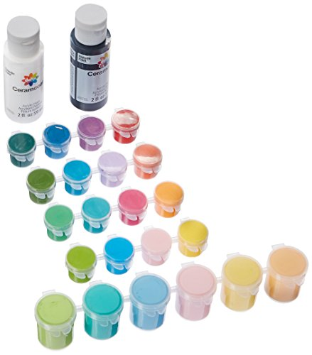 Delta Creative Bright's Super Pack Paint Set, 028870056 (24 Colors)