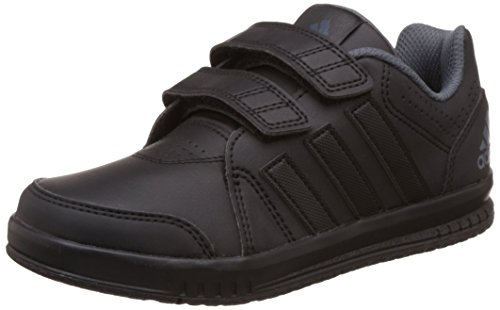 adidas LK Trainer 7 CF K, Zapatillas de Deporte Para Niños Black