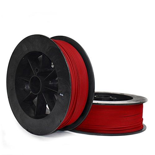 NinjaTek 3DCH03129020 NinjaTek Cheetah TPU Filament, 3.00mm, Tpe, 2kg Fire (Red) (Pack of 1)