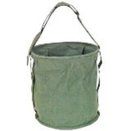 (Olive Drab Survival/Camping Canvas Water Bucket - Two (2) Gallons Carrier by Fox Outdoor)