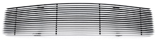 TRex Grilles 20515 Horizontal Aluminum Polished Finish Billet Grille Overlay for Ford Mustang LX
