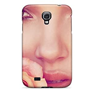 Hot Fashion IOnZQUK7411OKOMM Design Case Cover For Galaxy S4 Protective Case (beautiful Model Lily Donaldson)