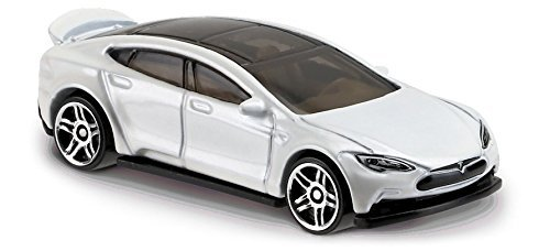 Hot Wheels 2017 Factory Fresh Tesla Model S 175/365, White