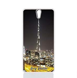 IMPRESS SONY XPERIA C5 ULTRA Hard Case with Burj Khalifa Design