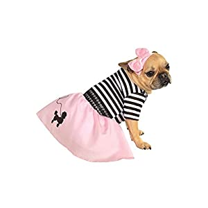 Rubie's Pink Fifties Girl Pet Costume-