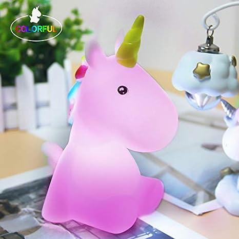 Unicorn Toys Light Led Lamp For Kids Teens Indoor Home Decor Table