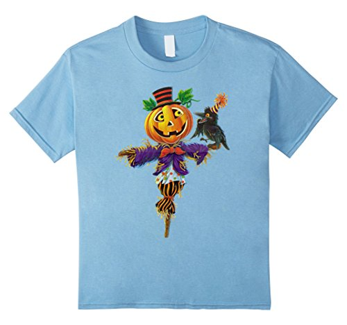 For Homemade Scarecrow Costumes Kids (Kids Halloween Scarecrow For Scary Costume Tee Shirt Horror Night 4 Baby)