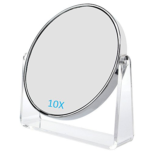 CATMICOO 1X/10X Magnifying Makeup Mirror, 6