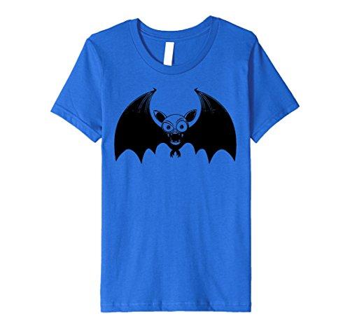 Good Husband And Wife Halloween Costumes - Kids Slim-Fit Scary Bat Animal Costume Halloween T Shirt 6 Royal Blue