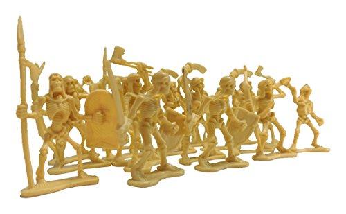 Pack Of 120 Skeleton Warrior Figures 2