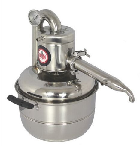 Welljoin 10L Water Alcohol Distiller Home Brew Kit Still Wine Making Essential Oil Boiler by well join