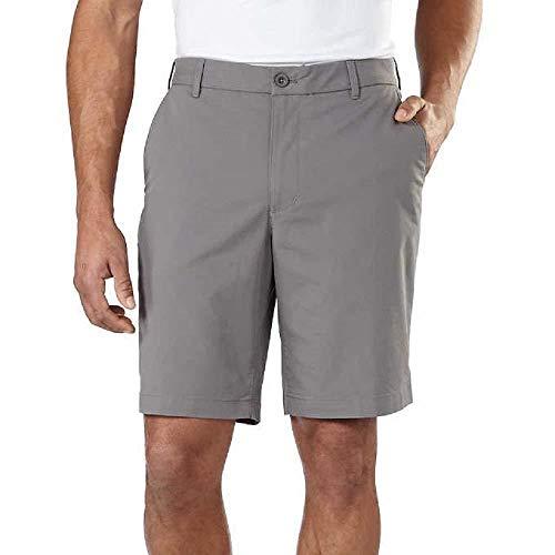 Izod Men's Performance Athletic Short Choose Size & Color (38, Gray) (Izod Belts For Men)