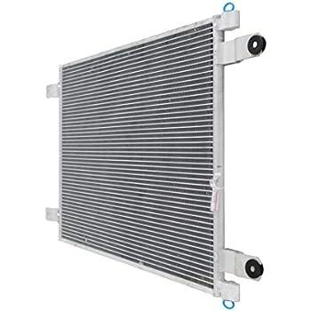 ECCPP AC A//C Condenser for 1995-2007 Kenworth T600 T660 T800 W900 W900B